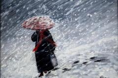 Alba Carafa, Snow, 30cmx20cm, 550 euro