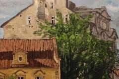 Bartolomêjska in Prague, 60x60 cm, 1600 eur