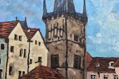 Vista da Josefska, 70x75 cm, 1700 eur