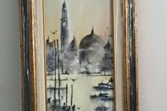 canale venezia nero