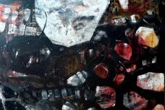 Czasoprzestrzeń. Oliwia Hildebrndt. akryl na płótnie. 70x90