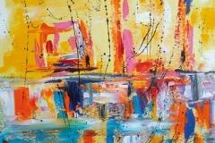 5.4--Riflesso-di-una-anima-a-tramonto-4,-53x38-cm,-tecnica-olio-su-tela,-Reflected-of-a-soul-to-sunset