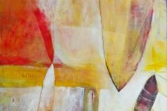 Abstraction.HotObjects. Acryl on wood.80x80cm