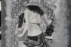 The-Raining-Dancers-30x40-acrilico-su-tela
