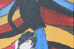 Bild 2, Maße 60 x 30 cm,Acryl